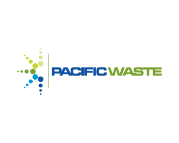 Pacific Waste logo design