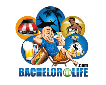 Bachelor for Life.com logo design