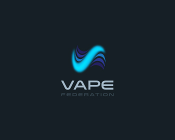Vape Federation logo design