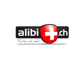 Logo design for ALIBI.ch