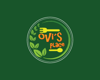 Ovi's Place logo design