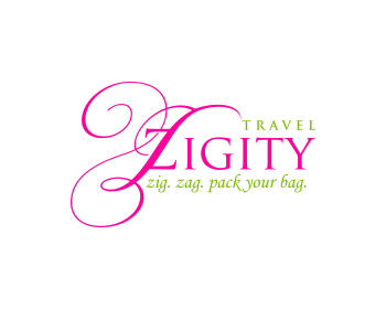 Zigity Travel logo design
