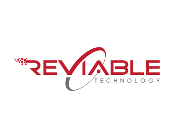Reviable logo design