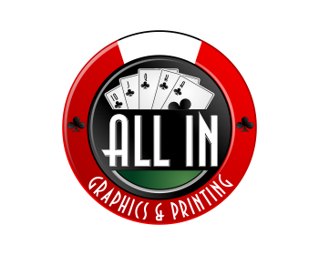 All In Graphics & Printing logo design