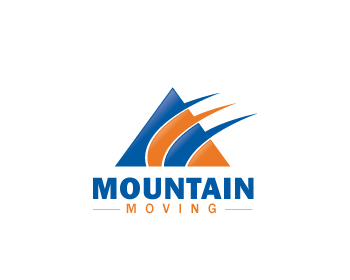 Mountain Moving logo design