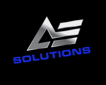 AE Solutions logo design