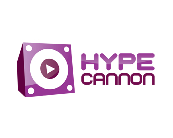 Hype Cannon logo design