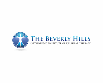 The Beverly Hills Orthopedic Institute of Cellular Therapy logo design
