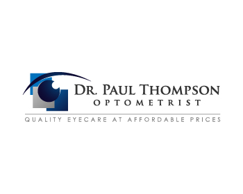 Dr. Paul Thompson - Optometrist logo design