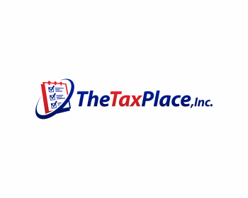 Logo design for The Tax Place, Inc.