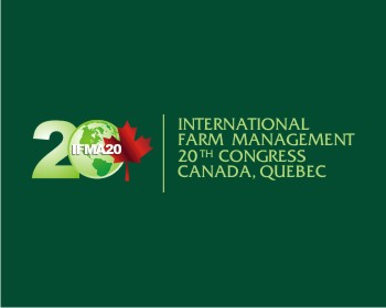 IFMA20 (International Farm Management Association 20th Congress) logo design