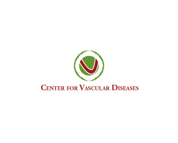 Center for Vascular Diseases logo design