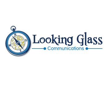 Looking Glass logo design