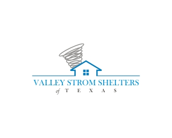Valley Storm Shelters of Texas logo design