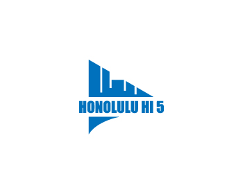 Honolulu HI 5 LLC logo design