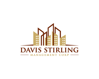 Davis Stirling Management Corp logo design