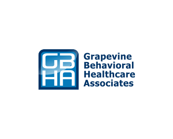 Grapevine Behavioral Healthcare Associates logo design