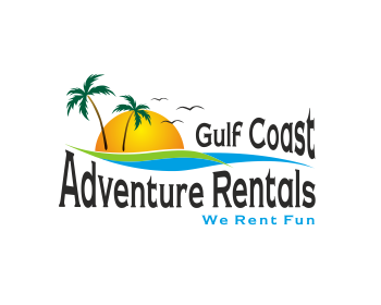 Gulf Coast Adventure Rentals logo design