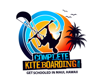 Complete Kite Boarding logo design