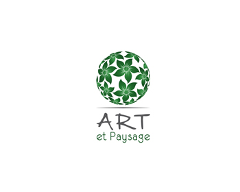 Logo design for Art et Paysage