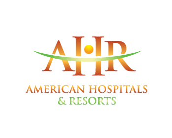 American Hospitals and resorts logo design