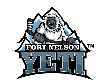 The Fort Nelson Yeti logo design