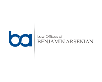 Logo design for Law Offices of Benjamin Arsenian, LLP