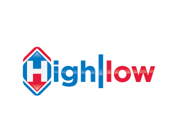 highllow logo design