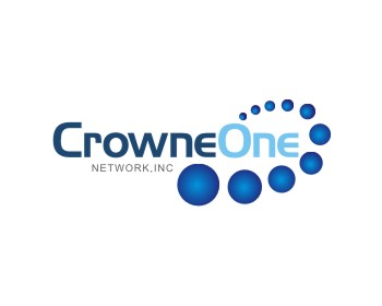 Crowne One Network, Inc. logo design