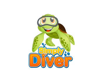 Simply Diver logo design