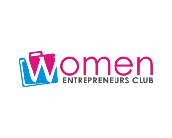 Women Entrepreneurs Club logo design