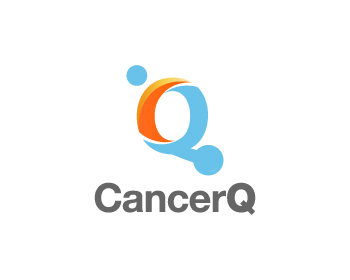 CancerQ logo design