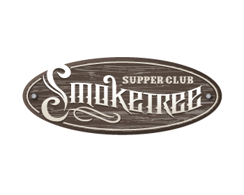 Logo design for Smoke Tree Supper Club