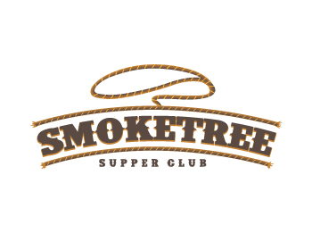 Smoke Tree Supper Club logo design