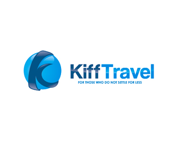Kiff travel logo design