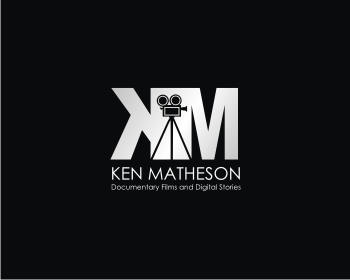 Ken Matheson Documentary Films and Digital Stories logo design
