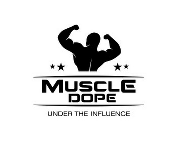 Muscle Dope logo design