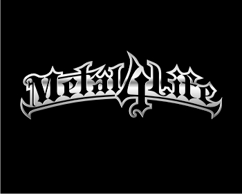 Metal 4 Life logo design