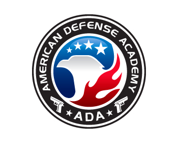 American Defense Academy logo design