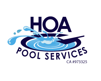 Logo wettbewerb hoa pool services for Pool design logo