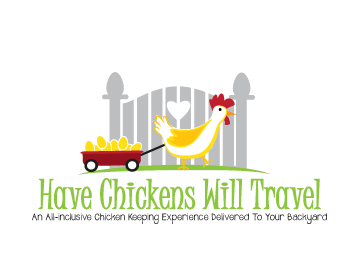 Have Chickens Will Travel logo design