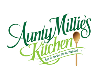 Logo design entry number 14 by miamiman aunty millies for Kitchen decoration logo