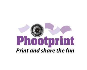 Phootprint logo design