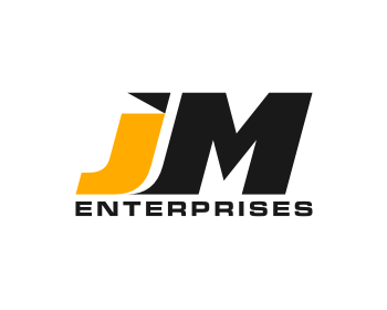 JM ENTERPRISES logo design