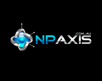 N P AXIS logo design