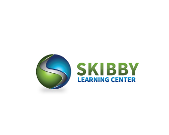 Skibby Learning Center logo design