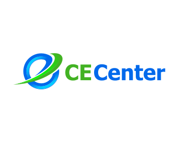 CE Center logo design