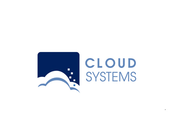 Cloud Systems logo design