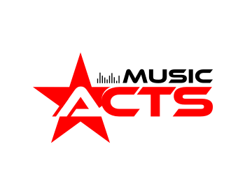 Music ACTS logo design