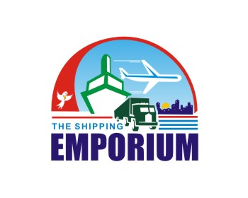 The Shipping Emporium logo design